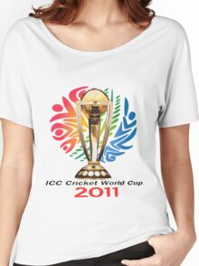 world cup 2011 Women's Relaxed Fit T-Shirt