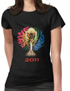 world cup 2011 Womens Fitted T-Shirt