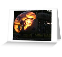 Sunset Sioux Greeting Card