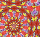 Yellow Circles by Sarah Curtiss