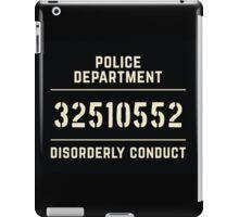 Mugshot sign iPad Case/Skin