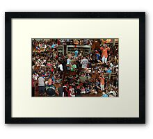 Young and old enjoy a Dutch tradition, in Frenchs Forest Framed Print