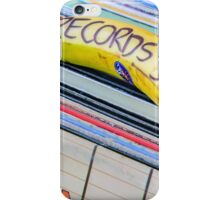Cheap Records iPhone Case/Skin