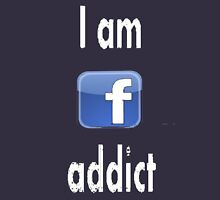 fb addict Womens Fitted T-Shirt