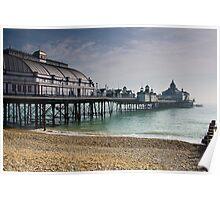 Eastbourne Pier in slight haze Poster