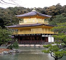 Golden Pavilion Kyoto Japan by RossHeywood