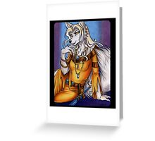 Golden Sorcha Werewolf  Greeting Card
