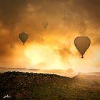 Les Trois Ballon by redtree