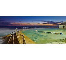 Sunrise Swim Photographic Print