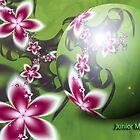 Floral of Spheres  # 4 by Junior Mclean
