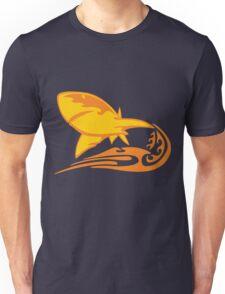 Flaming Shark Unisex T-Shirt