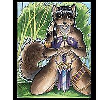 Forest Werewolf  Photographic Print
