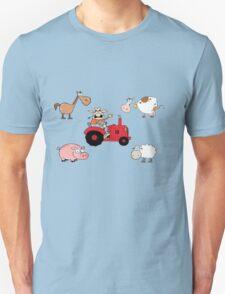 Babies one piece Farm  suit T-Shirt