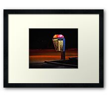 Would You Use This Phone At Night? Framed Print