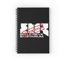 Belle Reve Sanitarium Spiral Notebook