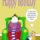 Big Betty's big sock, happy birthday by BRENDEN HOWARD