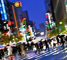 Ginza Night by Chris Lee