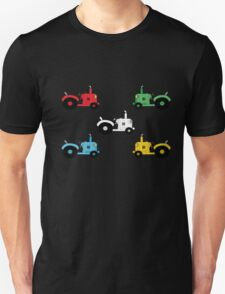 Colourful Tractor kids tee T-Shirt
