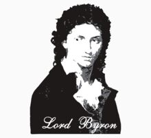 Lord Byron Romantic Kids Tee