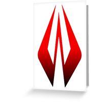 Kimi Raikkonen Helmet Design Greeting Card