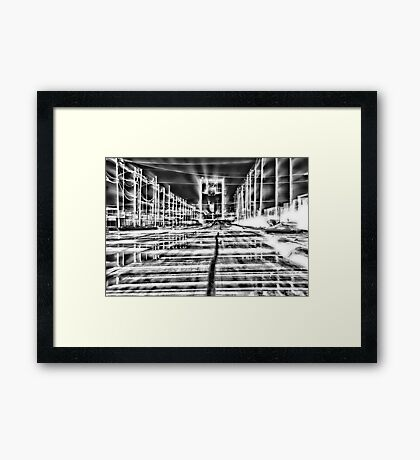 A Very Bright Night Framed Print