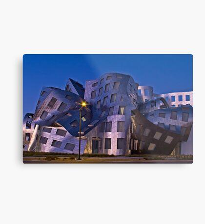 Warped Architecture Metal Print