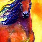 Arabian Horse #1 painting Svetlana Novikova by Svetlana  Novikova