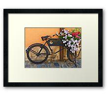 Pedals for Petals Framed Print