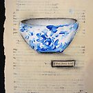 blue china bowl by CherieStrongArt