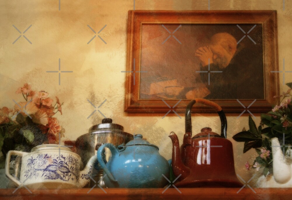 Back Home In Mama's Kitchen - Image and Poem by CarolM