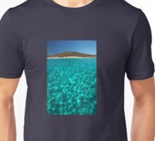 Bay in Rinia, Mykonos, Greece 2 Unisex T-Shirt