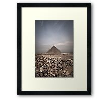 A Little bit of history and a wind of change Framed Print
