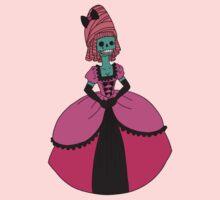 Fancy Skull Lady T-Shirt