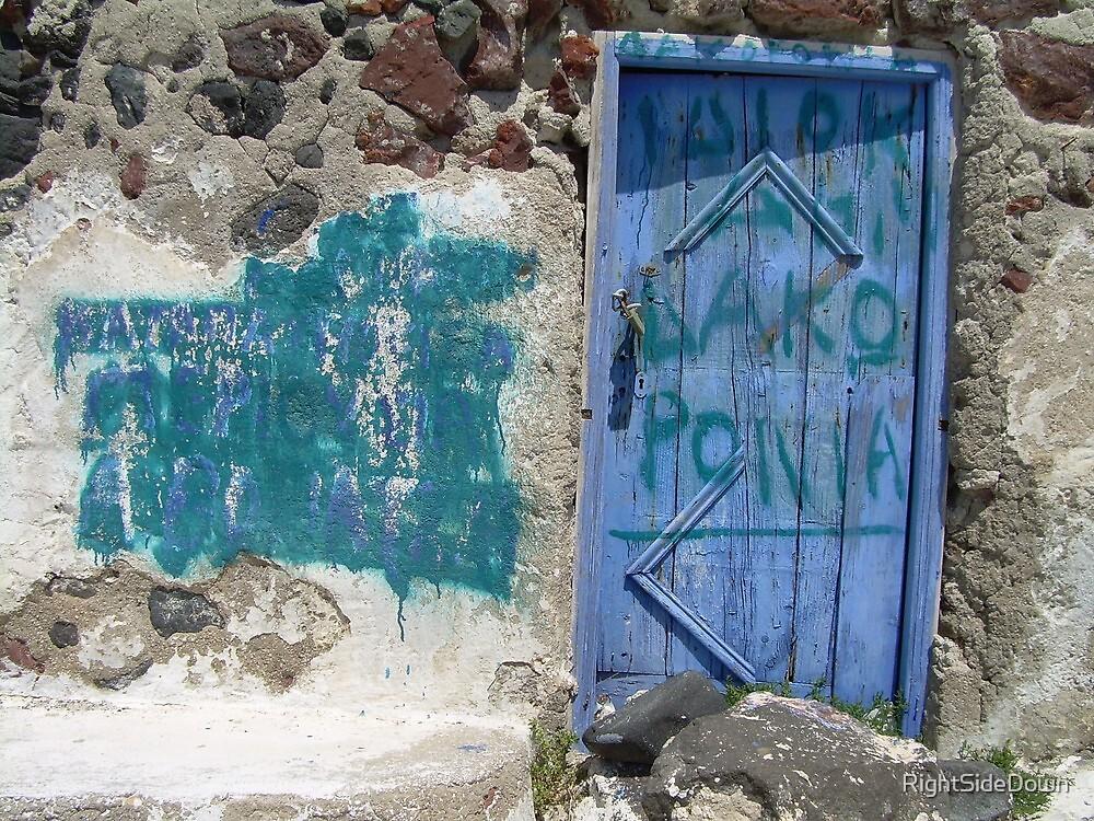 Old-school Graffiti by RightSideDown