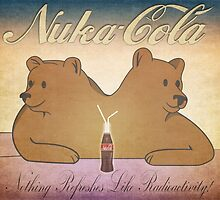 Nuka-Cola NCR Bears by kscaman