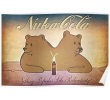 Nuka-Cola NCR Bears Poster