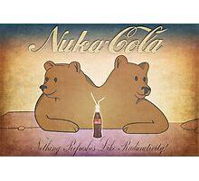 Nuka-Cola NCR Bears Photographic Print