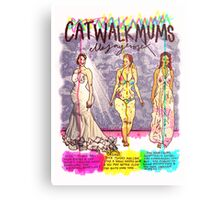 Pregnancy: Catwalk Mums Metal Print