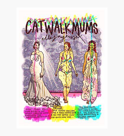 Pregnancy: Catwalk Mums Photographic Print