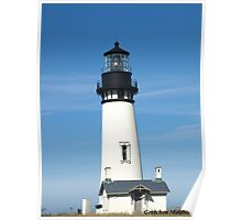 Light House in Newport Oregon Poster