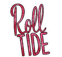 Roll Tide Tie Dye Photographic Print