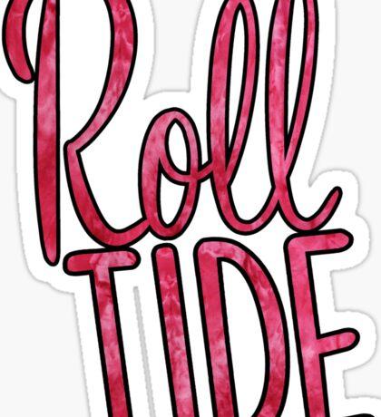 Roll Tide Tie Dye Sticker