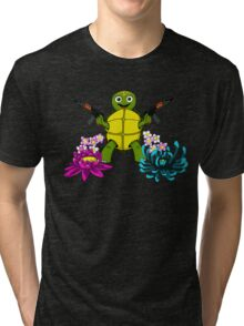 Guns and Turtle Tri-blend T-Shirt