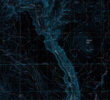 USGS Topo Map Oregon Becker Creek 278986 1990 24000 Inverted Sticker