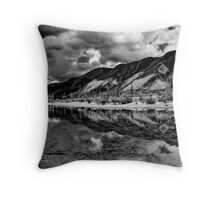 Muncho Lake British Columbia Throw Pillow