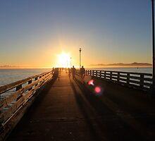 Berkeley sunset by gerardofm4