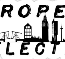 European Reflection Tour Silhouettes Sticker