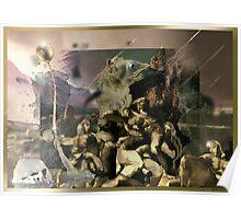 Love religion sex and war seven men lounge Poster