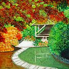 Garden colored by nature by maggie326