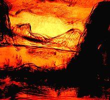 remote land.... a barren era in a future paradise by banrai